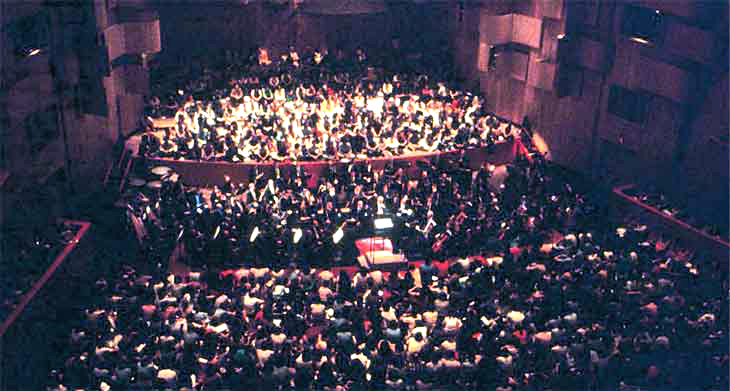 Peter Wexler - NY Philharmonic Rug concerts in performance 2004