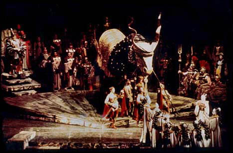 Peter Wexler - Les Troyens - Metropolitan Opera - New York - 1973 - performance photo